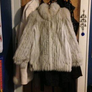 Genuine Vintage Fox Fur Coat