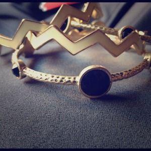Bangle Bracelets. 2 sets of 3 bracelets each