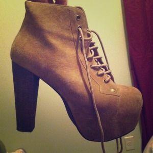 SOLDDDDJeffrey campbell lita boot size 8