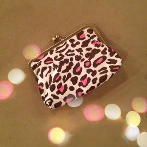 Leopard Clutch / Wallet