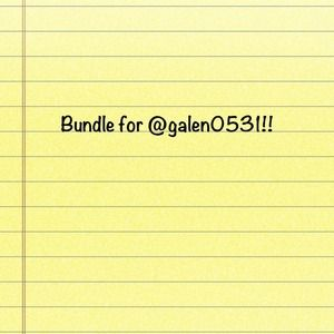 Bundle for galen0531!