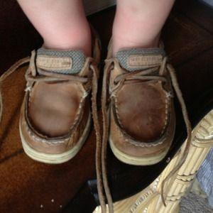 Sperry Top • Sider baby shoes.
