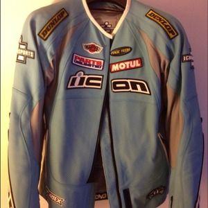 Icon Merc Hero Women's Leather Motorcycle Jacket