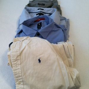 Men's dress shirts XL