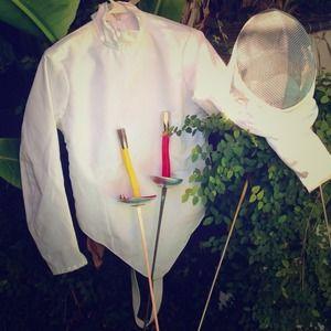 Santelli Fencing Jacket & Breast Armor Small