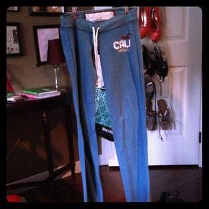 Hollister Blue Sweatpants
