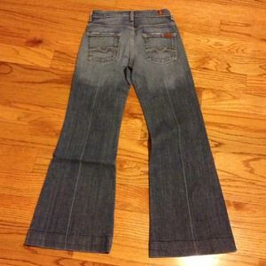 7 seven for all mankind jeans sz 25