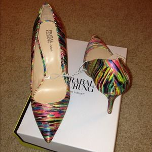 NOT AVAILABLE: Prabal Gurung Colorful Pumps