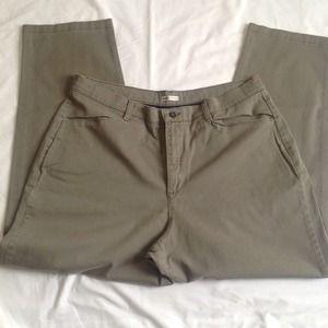 Lee Cotton Pants