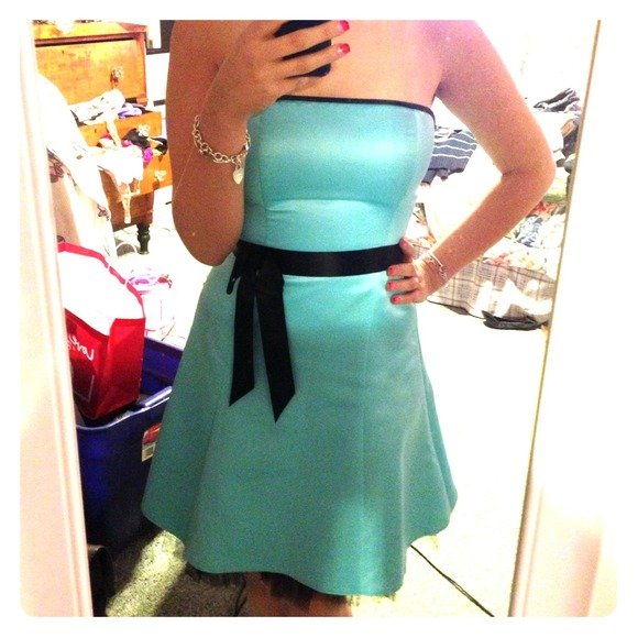 Jessica McClintock Dresses | Tiffany Blue Party Dress | Poshmark