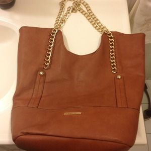 Taupe tote by Rampage