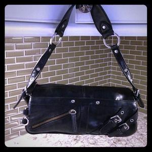 Handbags - Black leather clutch bag