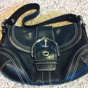 💯% Authentic Leather Coach Bag like new