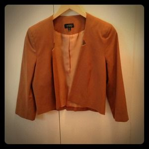 TOPSHOP super cute cropped jacket US size 8