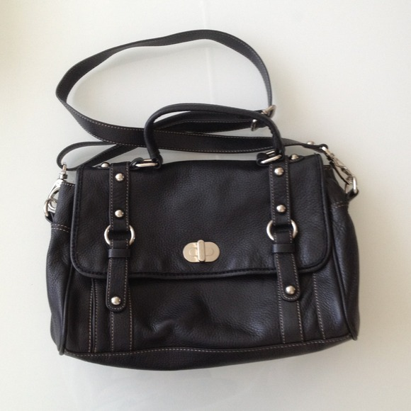 Real Leather cross body purse