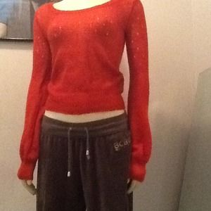 Soft burnt orange sweater from H&M