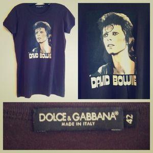 Dolce & Gabbana David Bowie Tee