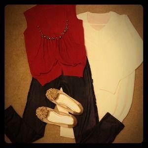 Outerwear - Vest + Top + Legging