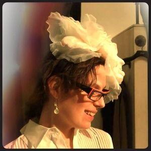 CLOSING SALE Flowering Chiffon Designer Headband