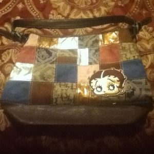Betty Boop novelty hand bag (GREAT CONDITION)