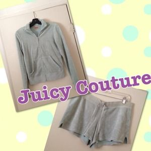 Juicy Couture Terrycloth Jacket and Shorts Set