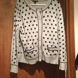 Tommy Hilfiger polka dot sweater