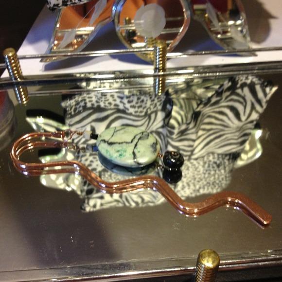 Handmade by BUnique jewelry Jewelry - Handmade copper, jasper and glass beads.