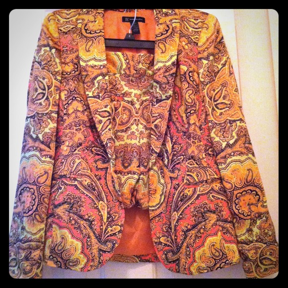 Jackets & Blazers - Printed INC Outfit