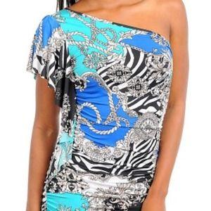 Dresses & Skirts - Beautiful one arm Dress.