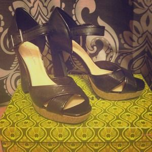 Gianni Bini size 9 Black heels! Never been worn!