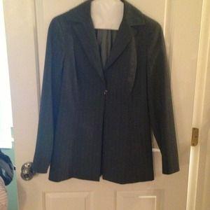 Bebe 2 pcs. Suit grey pinstripe