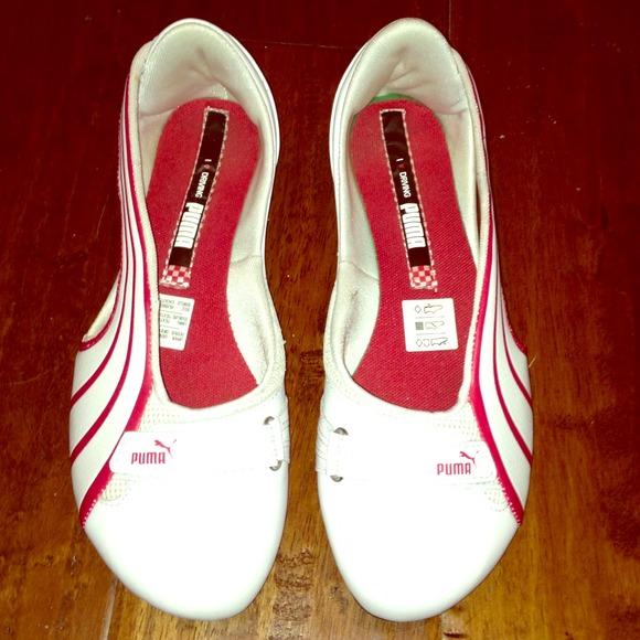 41d51bb2bfb52 PUMA Ferrari Espera ballerinas!!! Limited edition