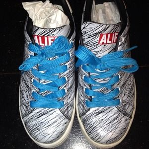 ALIFE Shoes - ALIFE-Leather Barney'sNY(limited edition) Sneaker