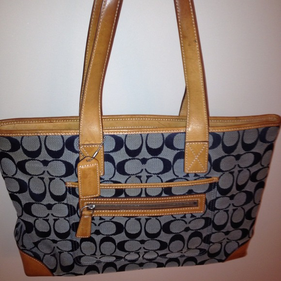 Coach Handbags - Denim Coach Purse