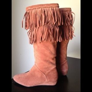 Gianni Binni fringe boots. Very cute and fun.