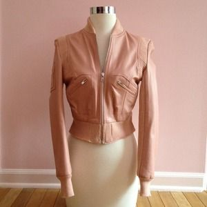 Bcbgirls leather jacket