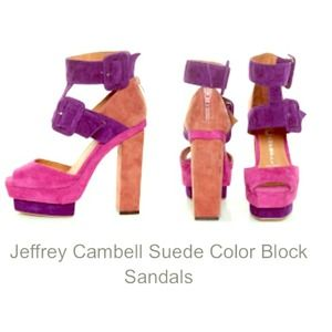 REDUCED!!!! Jeffrey Campbell color blocking