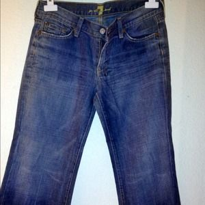 "Reduced! 7 For All Mankind ""Dojo"" Trouser Jean"
