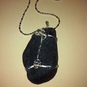 Handmade Sea Glass Pendant