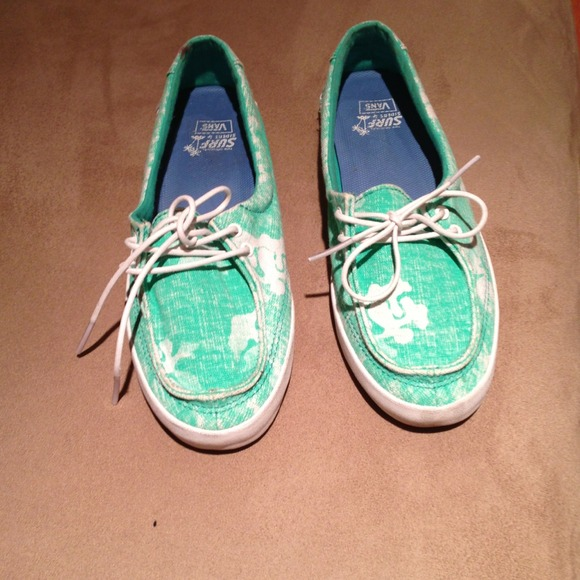 33 vans shoes turquoise and white vans surf shoes