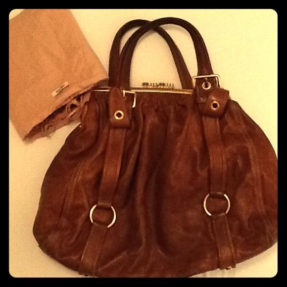Miu Miu Bags   Huge Reduce Authentic Vintage Handbag   Poshmark 491f39d9e7