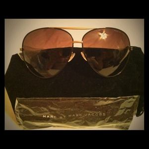 Marc by Marc Jacobs Accessories - Marc Jacobs Classic Aviator Sunglasses