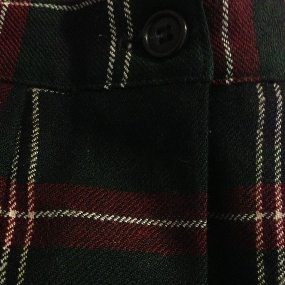 Skirts - Tartan Pencil Skirt