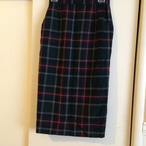 Dresses & Skirts - Tartan Pencil Skirt