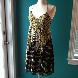 Abstract floral dress size 4!