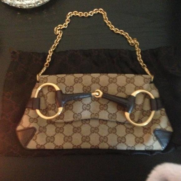 Gucci Bags Horsebit Chain Shoulder Bag Poshmark