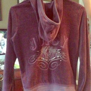 Juicy Couture Purple velour jacket