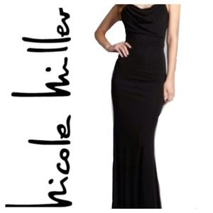 Nicole Miller Dresses & Skirts - Nicole Miller- prom Black Formal Dress