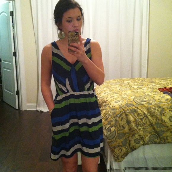 Dresses - Peppermint striped dress