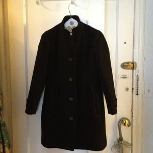 Black J Crew coat (with thinsulate)